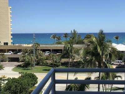 Highland Beach Rental Leased: 3450 S Ocean Boulevard #505