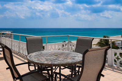Palm Beach Condo For Sale: 170 Ocean Boulevard #Ph-702