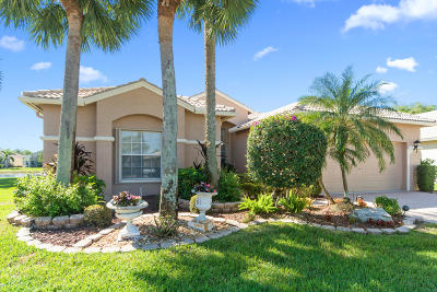 Boynton Beach Single Family Home For Sale: 8536 Royal Verona Circle