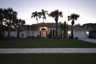 Boca Raton Single Family Home For Sale: 11391 Boca Woods Lane