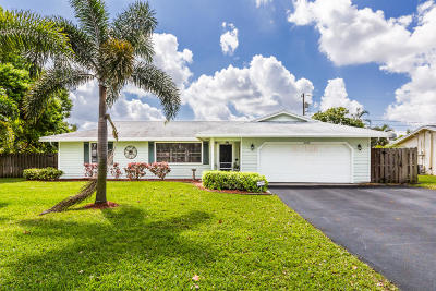 Delray Beach Single Family Home For Sale: 4550 Ellwood Drive