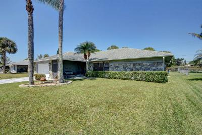 Royal Palm Beach Single Family Home For Sale: 177 Sunflower Circle