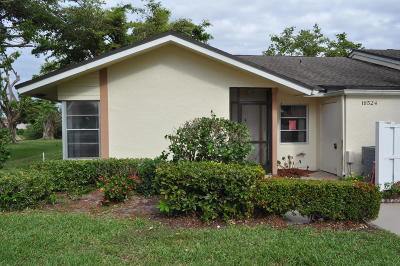 Boca Raton FL Single Family Home For Sale: $130,000
