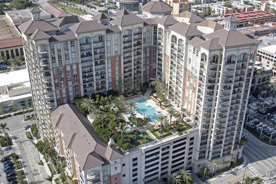 West Palm Beach Condo For Sale: 550 Okeechobee Boulevard #522