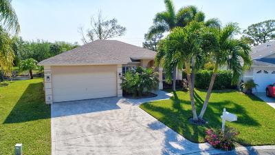 Greenacres FL Single Family Home For Sale: $299,000