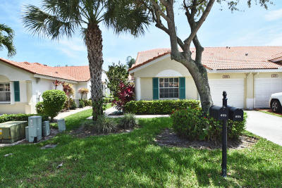 Delray Beach Single Family Home For Sale: 6170 Lake Hibiscus Drive