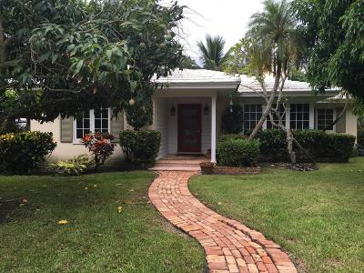 Delray Beach Single Family Home For Sale: 1202 Vista Del Mar Drive