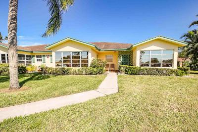 Delray Beach Single Family Home Contingent: 5186 Lakefront Boulevard #D