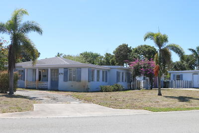 Delray Beach Single Family Home For Sale: 270 NE 16th Street