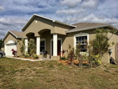 Port Saint Lucie Single Family Home For Sale: 6213 NW Kukui Court