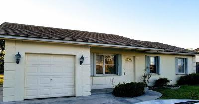 Boca Raton Single Family Home For Sale: 9769 Alaska Circle