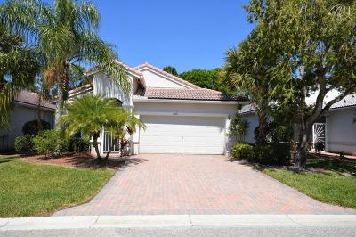Boynton Beach Single Family Home For Sale: 8421 Siciliano Street