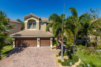 Boynton Beach Single Family Home Contingent: 7973 Emerald Winds Circle