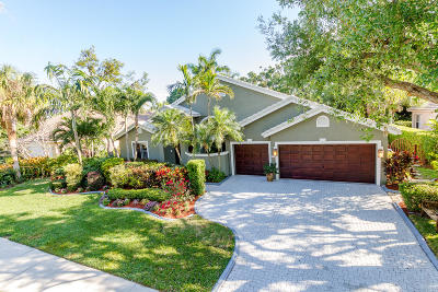 Delray Beach Single Family Home Contingent: 4530 S Barwick Ranch Circle