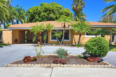 Pompano Beach Single Family Home For Sale: 351 SE 3rd Street