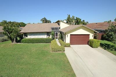 Boca Raton Single Family Home For Sale: 17743 Pine Needle Terrace