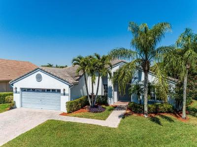Greenacres Single Family Home For Sale: 2520 Egret Lake Drive