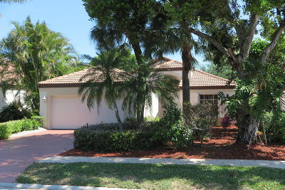 Boca Raton Single Family Home For Sale: 22594 Esplanada Drive