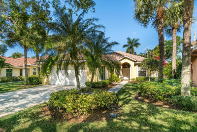 Jupiter Single Family Home For Sale: 146 E Hampton Way