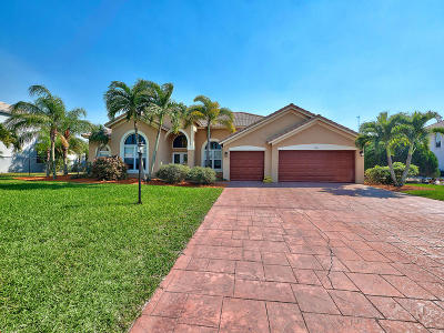 Lake Worth, Lakeworth Single Family Home For Sale: 9886 Crossbill Court