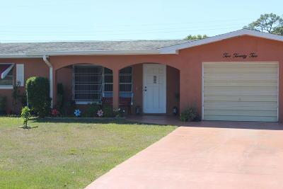 Port Saint Lucie Single Family Home For Sale: 222 E Arbor Avenue