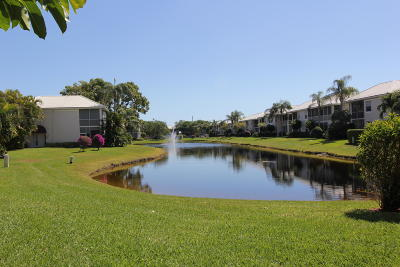 Boca Raton Condo For Sale: 5203 Lake Catalina Drive #A