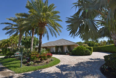 Boynton Beach Single Family Home For Sale: 3573 Chinaberry Terrace