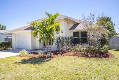 Boynton Beach Single Family Home For Sale: 306 SW 7 Avenue