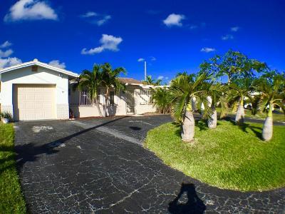 Boca Raton FL Single Family Home For Sale: $370,000