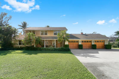 Lake Worth, Lakeworth Single Family Home For Sale: 6435 Boyd Lane