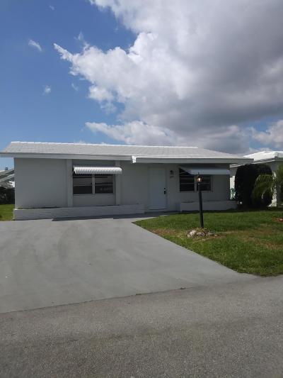 Boynton Beach Single Family Home For Sale: 1004 SW 3rd Way