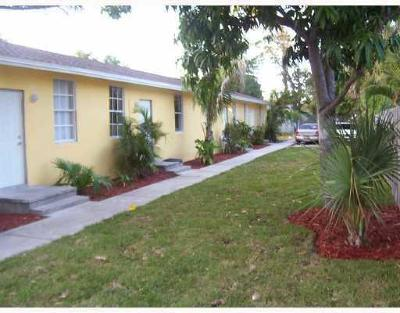 West Palm Beach Multi Family Home For Sale: 128 W 10th Street #1