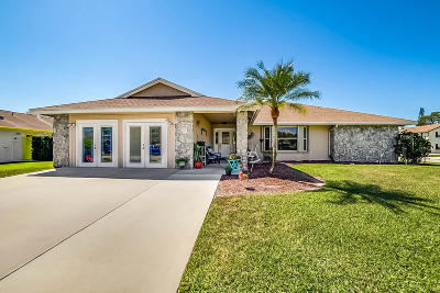 west palm Single Family Home For Sale: 100 Santander Court
