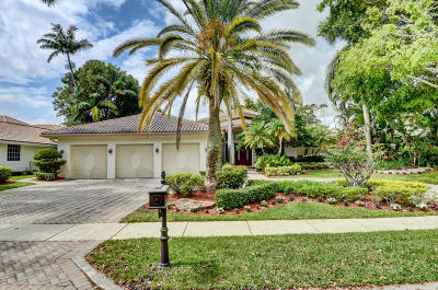 Boca Raton Single Family Home For Sale: 5867 NW 23rd Terrace