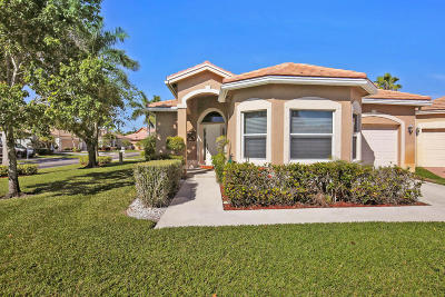 Lake Worth, Lakeworth Single Family Home For Sale: 6363 Harbour Club Drive