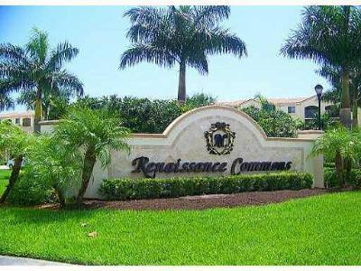 Boynton Beach Rental For Rent: 3305 Renaissance Way #305