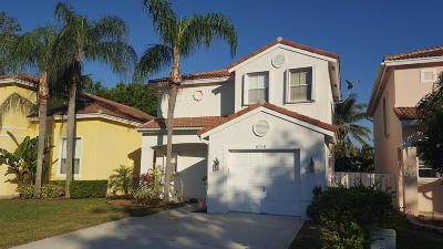 Lake Worth, Lakeworth Single Family Home For Sale: 6758 Green Island Circle