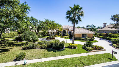 West Palm Beach Single Family Home For Sale: 8491 Egret Lakes Lane