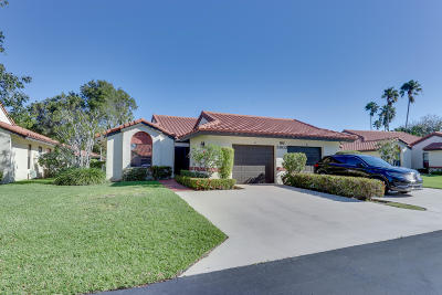 Boynton Beach Single Family Home For Sale: 5903 Autumn Lake Lane #A