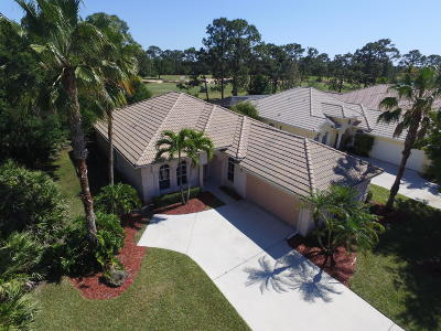 Port Saint Lucie Single Family Home For Sale: 8510 Belfry Place