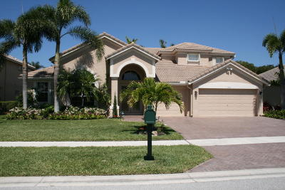 Boynton Beach Single Family Home For Sale: 7092 Brunswick Circle