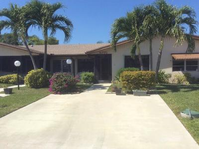 Delray Beach Single Family Home For Sale: 5775 Wanda Lane