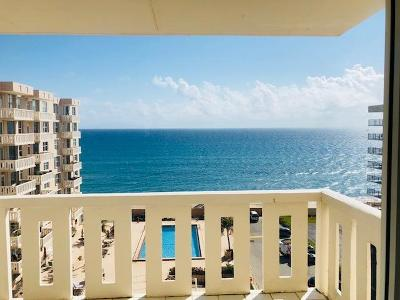 Palm Beach Condo For Sale: 3450 S Ocean Boulevard #7170
