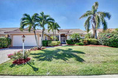 Boca Raton Single Family Home Contingent: 9392 Lake Serena Drive