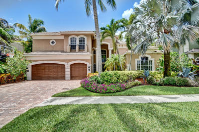 Delray Beach Single Family Home For Sale: 6854 Royal Orchid Circle