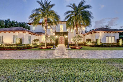 Boca Raton FL Single Family Home For Sale: $2,695,000