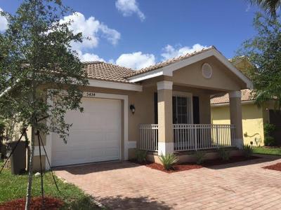 Greenacres FL Single Family Home For Sale: $262,000