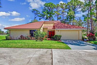 Palm Beach Gardens Single Family Home Contingent: 13277 Touchstone Place