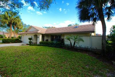 Jupiter Single Family Home For Sale: 18660 Lochpoint Court