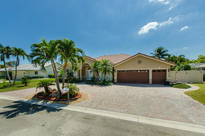 Boynton Beach Single Family Home For Sale: 4806 Pepper Bush Lane